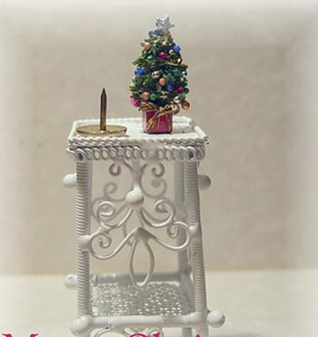 24th Scale Miniature Teeny Weeny Tiny Christmas Tree