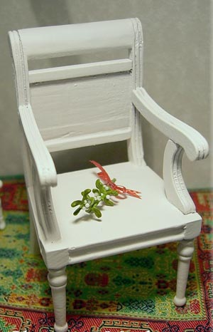 Dollshouse Miniature Christmas Mistletoe